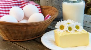 Acid-Alkaline Dairy and Egg Products Food List