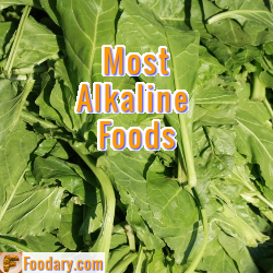 Most Alkaline Key Foods List