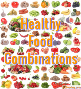 Healthy Food Combinations Chart